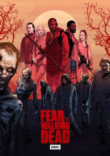 Бойтесь ходячих мертвецов 5 сезон дата выхода